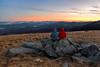 Watching the Sunrise (Avisek Choudhury) Tags: canon5dmarkiii canon1635mmf28lii acratechballhead gitzo roanmountain roanhighlands tennesee northcarolina avisekchoudhury avisekchoudhuryphotography sunrise landscape