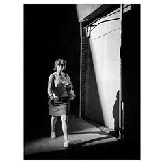 From shadow to light, and back to shadow . #ShotOnIPhone6S #Hipstamatic300 (#JohnS #BlacKeySuperGrain) #Snapseed (luisonrh) Tags: ifttt instagram bw blackandwhite blancoynegro monochrome monocromático digital documentary candid people gente street streetphoto streetphotography mobile mobilephotography iphoneography shotoniphone6s hipstamatic
