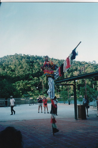 Moco Jumbie School - Stilt Walking