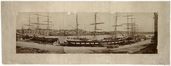 Circular Quay, 1871 / photographed by Charles Percy Pickering (State Library of New South Wales collection) Tags: statelibraryofnewsouthwales panorama