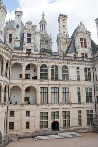 Cour intérieure du Château de Chambord