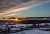 Coucher de soleil depuis l'église de Brangues (38) (chapuis_sophie) Tags: concepts 2017 isère hiver soleil brangues janvier nuages coucherdesoleil natureetfaune neige sun winter