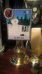 Snow Rat - Rat Brewery (DarloRich2009) Tags: snowrat theratbrewery ratbrewery beer ale camra campaignforrealale realale bitter handpull brewery