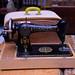 Singer sewing machine in box