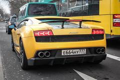 Russia (Moscow) - Lamborghini Gallardo LP570-4 Superleggera (PrincepsLS) Tags: russia russian license plate 777 moscow germany berlin spotting lamborghini gallardo lp5704 superleggera