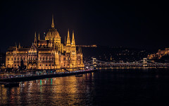 The Parliament at night (Vagelis Pikoulas) Tags: parliament architecture budapest buda pest hungary europe travel river chain bridge canon 6d tamron 70200mm vc 2016 autumn november