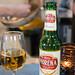 Beer and ravioli at Papi