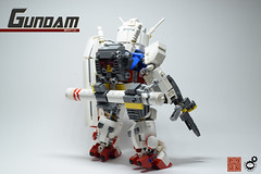 3. Gundam FBO Rear 1 (Sam.C (S2 Toys Studios)) Tags: rx782 gundam mobilesuit legogundam lego moc samc s2toys 80s scifi mecha anime japan spacecraft gunpla