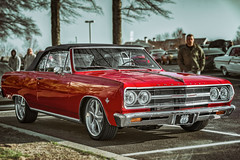 1965 Chevelle Malibu (Cars & Coffee of the Upstate) (*Ken Lane*) Tags: beaconhill geo:lat=3486236347 geo:lon=8225789219 geotagged unitedstates usa 1965chevellemalibu americanclassiccar auto automobile automotive automotivephotography badass cc car carphoto carphotography carportrait carportraiture carscoffee carscoffeeoftheupstate carsandcoffee carsandcoffeeoftheupstate chevrolet chevroletchevellemalibu chevroletchevellemalibuconvertible classiccar convertible greenville greenvillecarscoffee greenvillesc greenvillesouthcarolina greer malibu michelinnorthamerica redcar sc southcarolina upstate upstatesouthcarolina vehicle véhicule vehículo vendimia voiture worldcars αυτοκίνητοmba' автомобил автомобиль классическийавтомобиль сборвинограда ベンツ メルセデス メルセデスベンツ التطوعي العمل المسعود الملا تصوير خالد سي سيارة كانون كرايسلر مرسيدس مركبة مركز معرض गाड़ी मोटर म् लाल विंटेज