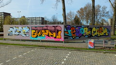 Graffiti Couwenhoek (oerendhard1) Tags: graffiti streetart urban art rotterdam couwenhoek meanr stern iekon ikon casm