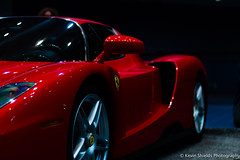 Ferrari Enzo Side (Kevin Shields Photography) Tags: ferrari red italian imported rare exotics enzo exotic engine v12 vehicle worldcars car prancing horse