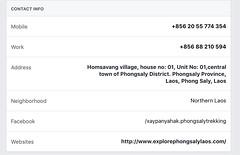 Amazing Lao contact info (jumbokedama) Tags: phongsali teacigars teaplantations laolao laowhisky laowhiskey laofood
