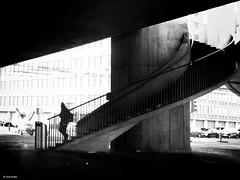 out in a new day (René Mollet) Tags: zürich escherwyssplatz blackandwhite bw street streetphotography shadow silhouette streetphotographiebw streetart monchrom monochromphotographie monochrom renémollet ©renemollet penf