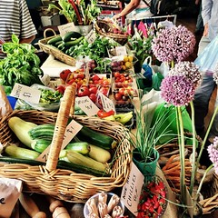 Some of the produce at the Franklin market.