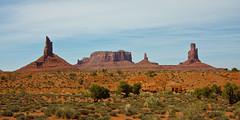 Unique buttes (++sepp++) Tags: kayenta arizona usa us buttes landschaft landscape landschaftsfotografie monumentvalley navajotribalpark