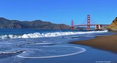 Baker Beach San Francisco (Rex Montalban Photography) Tags: rexmontalbanphotography bakerbeach sanfrancisco california goldengatebridge