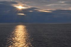 Norway (daveknight1946) Tags: sun starburst norway midnightsun clouds