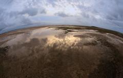 Sunset near Wellington Point (Greg_C2010) Tags: sunset wellingtonpoint sandflats lowtide mud foreshore reflections stormy brisbane queensland moretonbay mudflats waterloobay