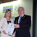 Catherine Monaghan, Lough Eske Castle & Solis Hotel & Spa with Joe Dolan, President, IHF