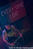 Every Time I Die @ Common Vision Tour, The Crofoot, Pontiac, MI - 08-13-15
