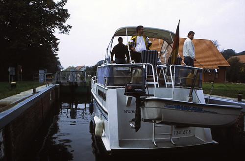 Hausboottour (75) Plauer Eldeschleuse