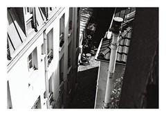 Too hot to work (crazyouths) Tags: street paris analog rolleiflex photography blackwhite kodak trix ishootfilm sl kodaktrix 35 sl35 rolleiflexsl35 ilovefilm