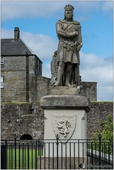 Stirling - Robert Le Bruce (jboisard.photo) Tags: castle landscape scotland nikon stirling ecosse d7100 afsnikkor70200f28gvrii jrmeboisard jboisardphoto wwwjboisardphotojimdocom