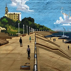 i want to be here (nVa17) Tags: sky streetart river painting colorful drawing streetphotography quay streetphoto drawn perm embankment         streetphotocolor streetphotoperm degradr