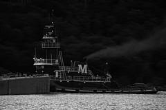 Doris Moran (Tugboat) (thetrick113) Tags: river cement vessel tugboat hudsonriver moran westpoint hudsonvalley putnamcountynewyork lehighcement westpointmilitaryacademy dorismoran cementbarge garrisonnewyork workingvessel morantowingcorporation sonyslta65v hudsonrivertugboat tugboatdorismoran lehighcementbarge