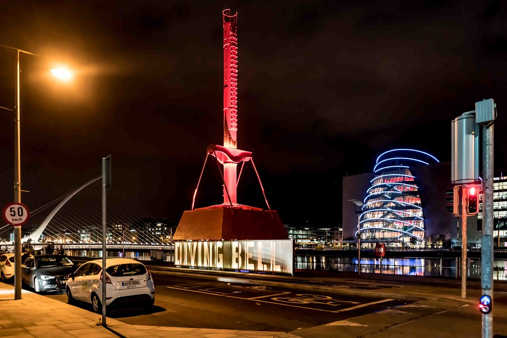 DUBLIN PORT DIVING BELL [AT NIGHT]-109118