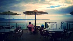 Foto Postal .. (oletnaa) Tags: sunset mar paz playa galicia infinito tranquilidad