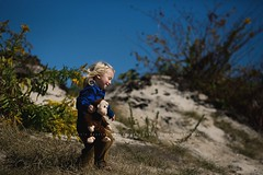 Exploring... (privizzinis passion photography) Tags: ocean blue boy people plant tree green beach nature childhood yellow fun outside happy monkey kid child wind outdoor joy atlantic adventure explore shore atlanticocean