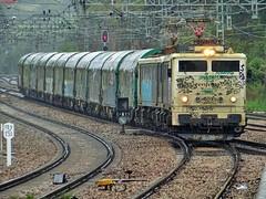 289 (firedmanager) Tags: train tren asturias mitsubishi ferrocarril freighttrain renfe trena 289 tándem railtransport renfemercancías villabonadeasturias