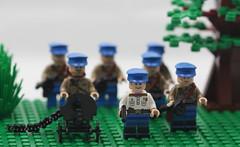 LEGO WW2 Russian NKVD squad (dmikeyb) Tags: lego wwii group company soviet ww2 squad russian platoon battalion smersh nkvd