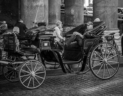 (Groovylator) Tags: street city people bw white black rome still artistic cities streetphotography scenes sights