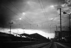 Gare de Nantes (aloeildeverre@yahoo.fr) Tags: railroad station train de rail railway chemin fer sncf waggon loeildeverrephotographie