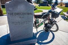 On the Oregon Trail.