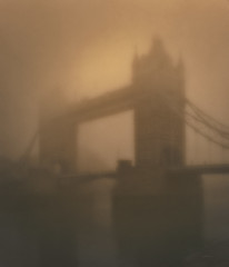 Great Fire of London (Nellie Vin) Tags: color london sepia towerbridge photography visions mood sunday atmosphere feeling greatfireoflondon filmphotography nellievin