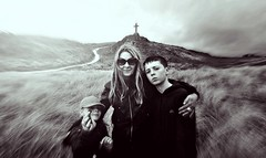 champs (plot19) Tags: family portrait people blackandwhite woman west love girl wales kids landscape photography nikon cross northwest olivia britain sandy aaron north cymru western land liv british northern plot19