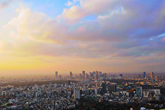 December of Tokyo sky (forestfaily) Tags: sunset sky cloud japan december dusk famous tokyotower   cloudporn   tokyosky skytree  tokyoair tokyolandscape  landscapelover japanfamous