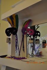 Magnolia Hotel Biloxi MS (King Kong 911) Tags: party museum hotel colorful dresses biloxi mardigras headdress