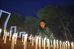 Candle lighting - vow to fight for change (auniket prantor) Tags: lighting blue sky people tree girl beautiful female night children asian for 1971 fight women war asia december candle child view respect indian south protest social wear human only editorial change heroin visual issue liberation bangladesh interest minar activist journalist continue based organisation regular vow bangladeshi subcontinent 2015 zakir sharee hossain manyone shohid petriot birangana petriotism