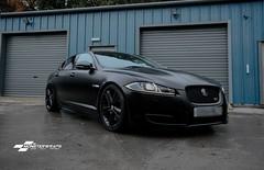 Jaguar XF-s Satin black wrap & Ceramic PRO (DUP_Automotive) Tags: monsterwraps southampton hampshire jaguar automotive carwrap satinwrap satinblack jaguarxf ceramicpro