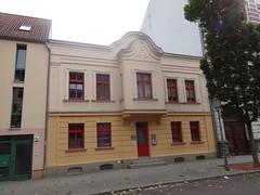 1906 Magdeburg Aufstockung mit Jugendstilfassade eines Wohnhauses aus 1.Hälfte 19.Jh. Moritzstraße 6 in 39124 Neue Neustadt