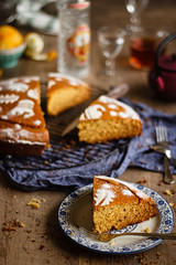 IMG_8389_exp-2 (Helena / Rico sin Azúcar) Tags: bizcocho cake vasilopita vanilla vainilla orange naranja anís anise cardamomo cardamom mantequilla butter food christmas navidad postre dulce dessert greece