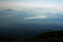 Lake Below Mount Fuji (pokoroto) Tags: lake below mount fuji  fujisan yamanashi prefecture   japan 8   hachigatsu hazuki leafmonth 2016 28 summer august