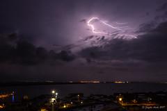 Lightning in Darwin (NettyA) Tags: 2016 australia darwin nt northernterritory sonya7r city clouds lightning storm thunderstorm wetseason miops lightningtrigger sky