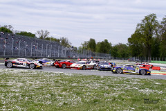 _FE27309 (Foto Massimo Lazzari) Tags: ferrari ferrarichallenge racer supercar pista autodromo autodromodimonza primavariante incidente crash