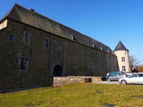 Le château de Courrière