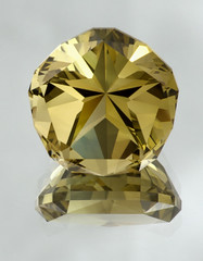 Star of Texas (bpperth) Tags: macro gem faceting smokeyquartz